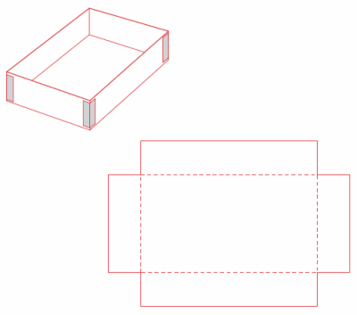 Open Box Outline Images Reverse Search Template